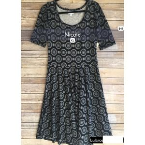 NWT Lularoe Nicole Dress Size XL